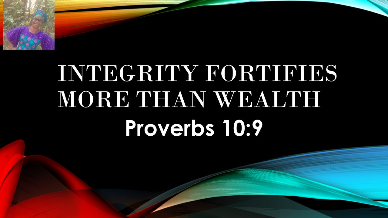 Integrity Fortifies (Grace Made Products)